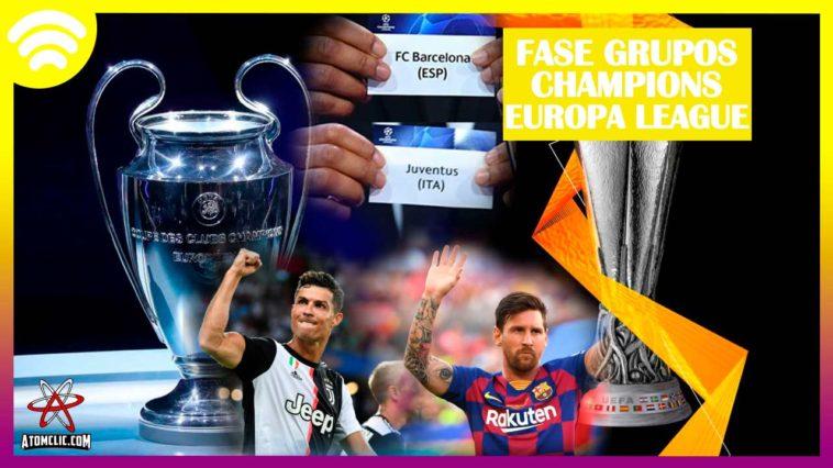 Así quedaron la fase de grupos de la Champions y Europa ...